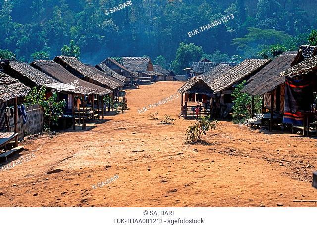 Padong village north of Thailand