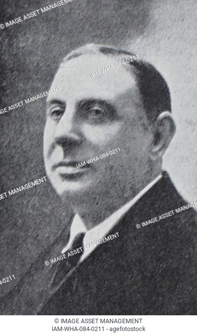 Photograph of Julio Garreta (1875-1925) a Spanish composer. Dated 20th Century
