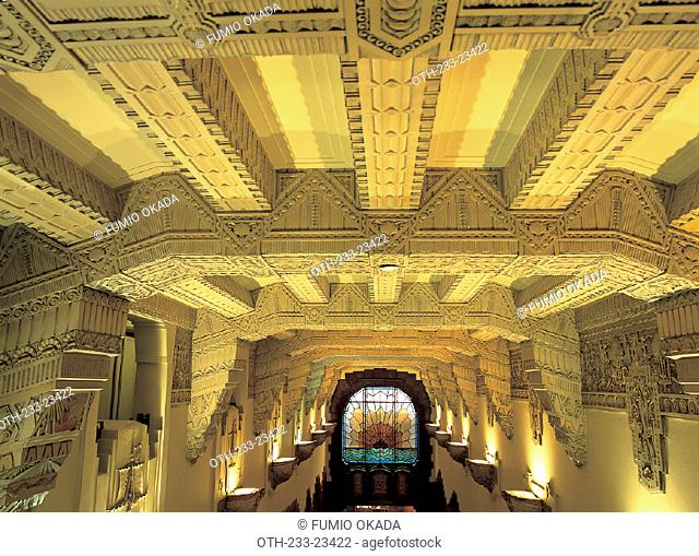 The Art deco of Marine Building, Vancouver, Canada