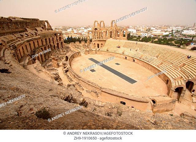 Amphitheatre of El Jem, Tunisia, Africa