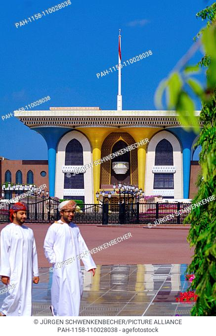 The Sultan's Palace (Qasr al-Alam) was built in the early 1970s. The Sultan carries out his official duties from the new pompous building