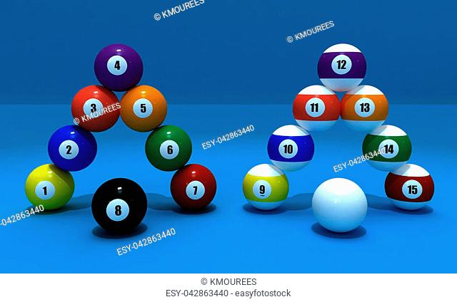 This is a 3d graphic for all balls of billiard game , you can use it as a poster , picture or docore