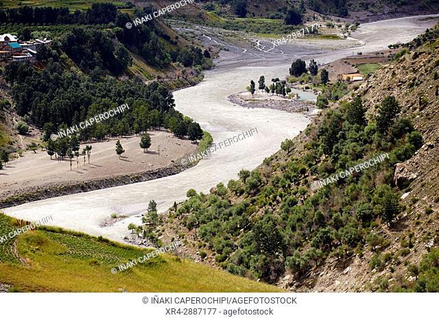 Bhaga River, Gushal, Lahaul Valley, Himachal Pradesh, India