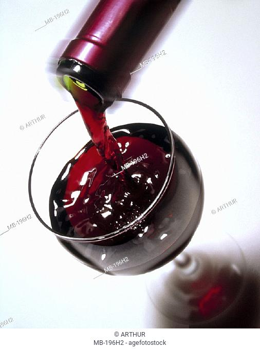 Red wine, Glass, pour