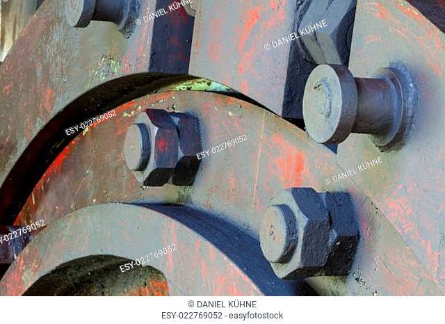 Detailaufnahme Dampfmaschine