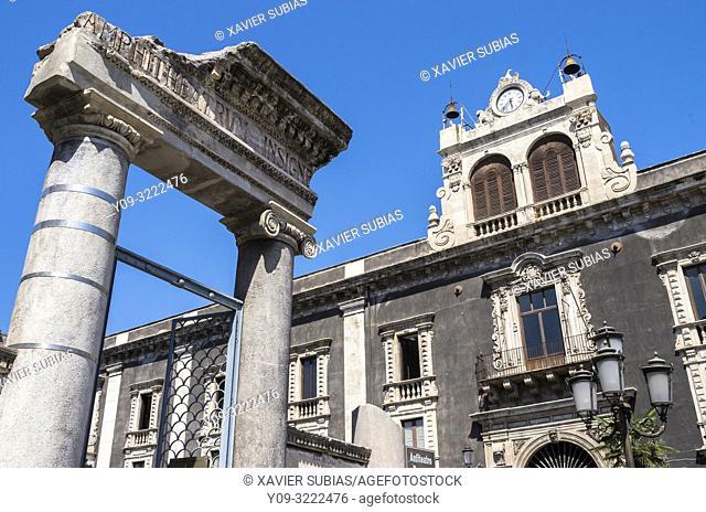 Palazzo Tezzano, Catania, Sicily, Italy