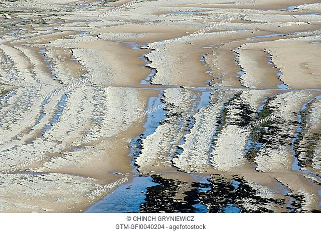 Abstract Rocky Beach Pattern