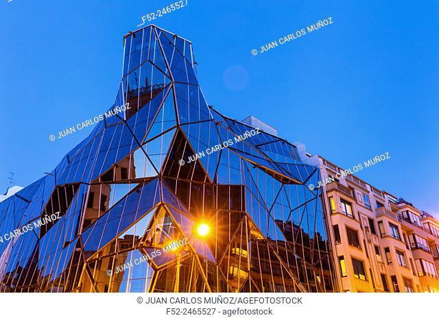 Osakidetza building, Bilbao, Bizkaia, Basque Country, Spain, Europe