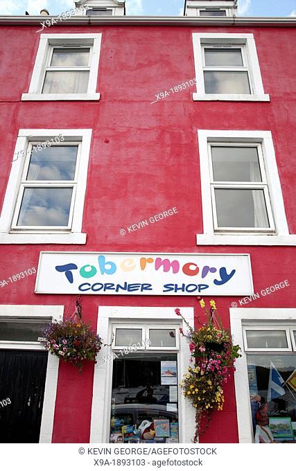 Corner Shop, Tobermory, Isle of Mull, Scotland