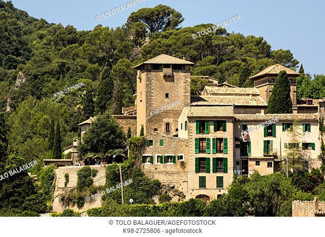 palacio del rey Sancho, Valldemossa, sierra de tramuntana, Majorca, Balearic Islands, Spain