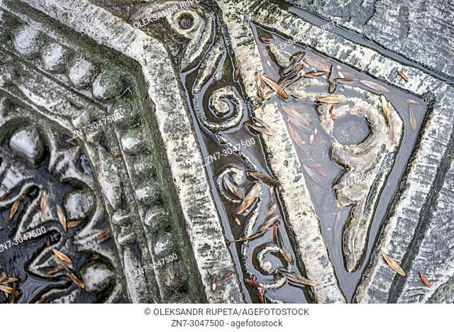 Hagia Sophia, remains of the older basilica built under emperor Theodosius II, Istanbul, Turkey