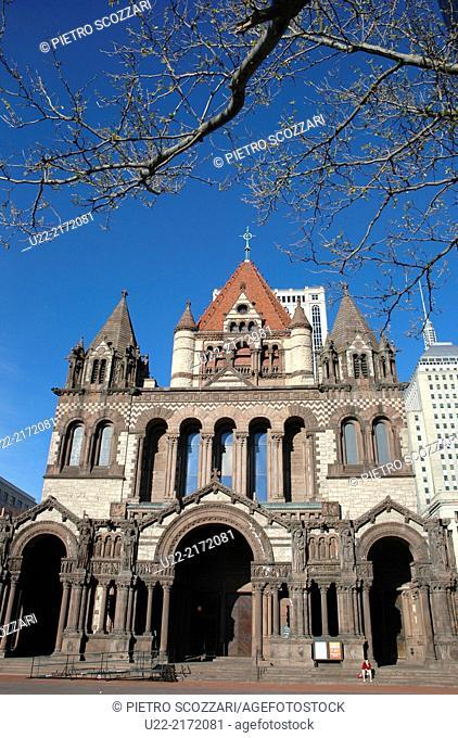 Boston, Massachusetts, U.S.A., Trinity Church