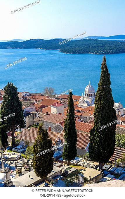 UNESCO World Heritage, Cathedral of Holy Jacob, Katedrala sv. Jakova, Sibenik, Croatia