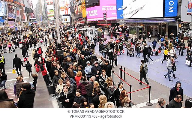 Times Square, 42 nd Street, Manhattan, Broadway, New York City, USA