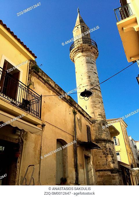 Daliani str. at old town of Chania, Crete