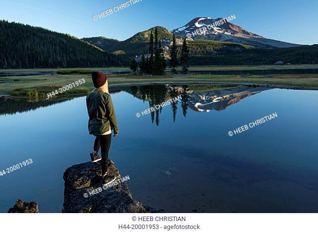 Oregon, Deschutes County, Bend, Sparks Lake, MR