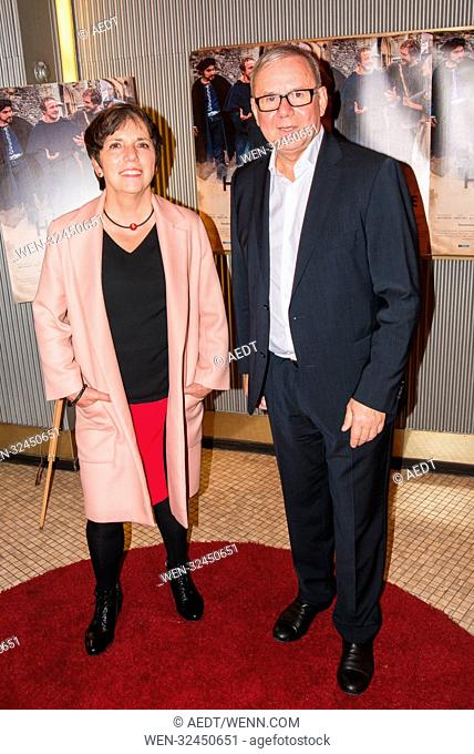 Special Screening of Zwischen Himmel und Hoelle at Astor Film Lounge in Berlin Featuring: Margot Kaessmann, Joachim Krol Where: Berlin