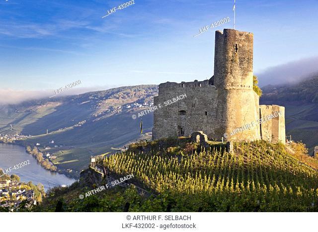 Landshut castle in Bernkastel-Kues, Rheinland-Pfalz, Germany