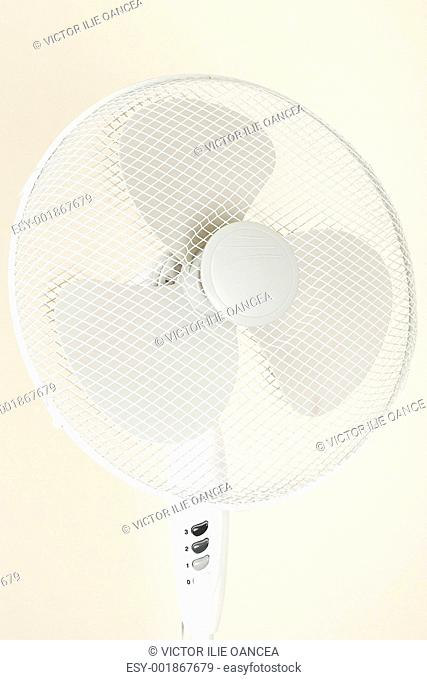 fan, ventilator for hot summer days