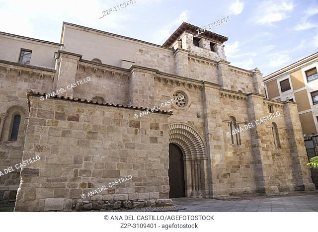 San Antolin church in Zamora Castile and Leon. Spain