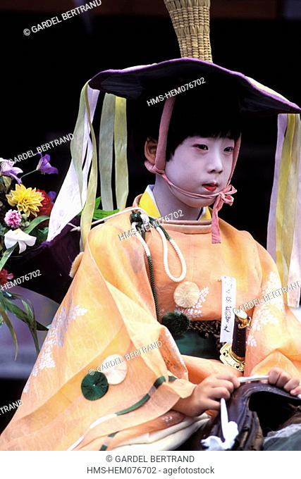 Japan, Honshu Island, Kyoto, Kinki District, Gion Matsuri Festival