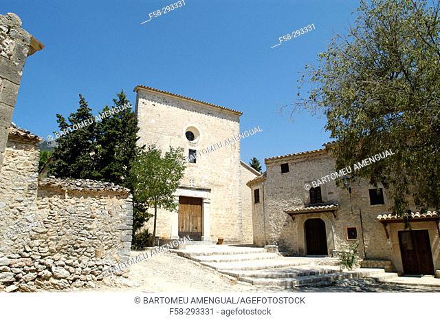 Church of Sant Jordi. Orient. Bunyola. Majorca. Balearic Islands. Spain