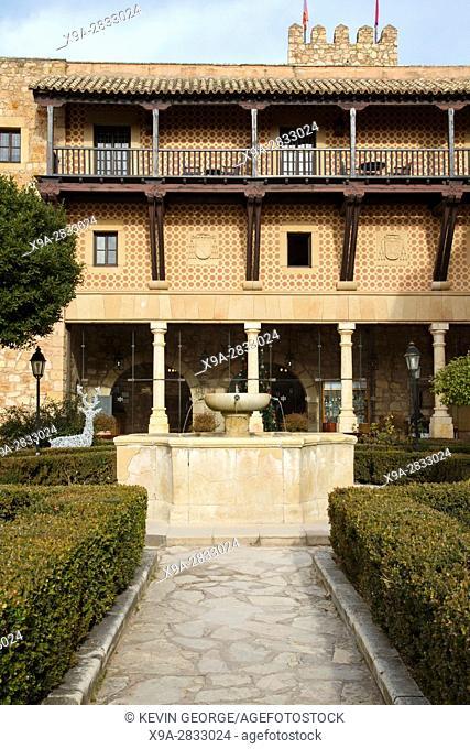 Parador Hotel, Siguenza Castle, Guadalajara, Spain