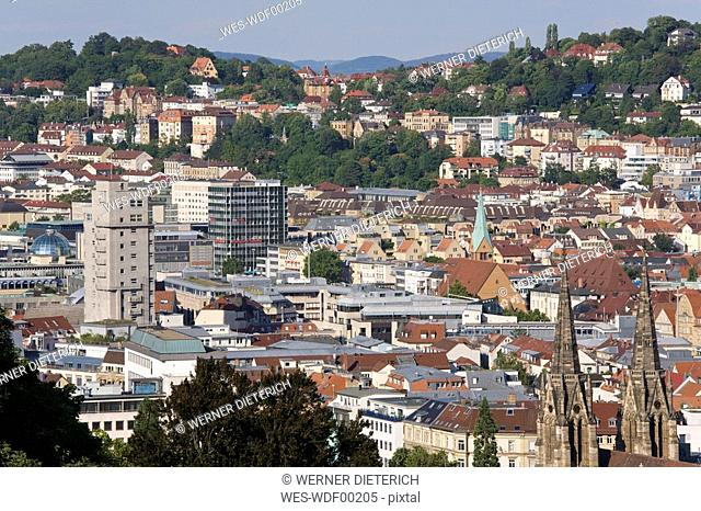 Germany, Baden-Wuerttemberg, Stuttgart, Cityscape