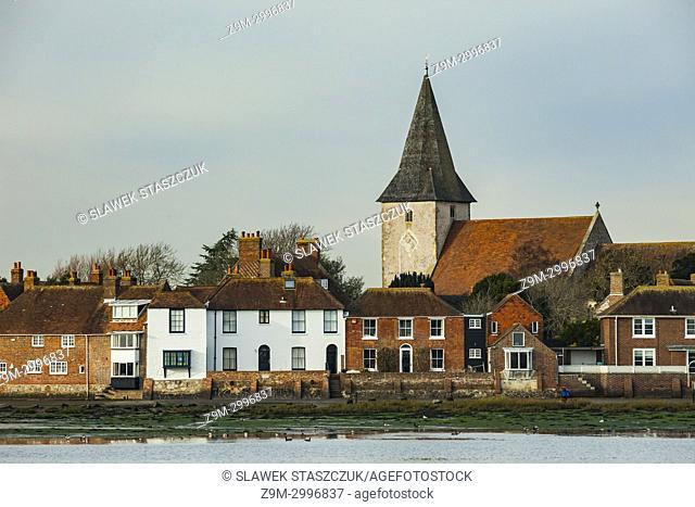 Bosham village, West Sussex, England