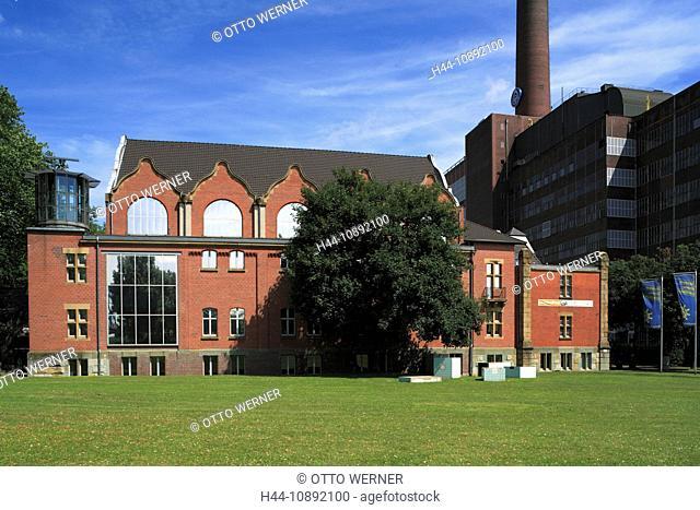 Industrial culture, museum, German ship journey, Duisburg-Ruhrort, Rhine, Lower Rhine, Ruhr area, North Rhine-Westphalia, German