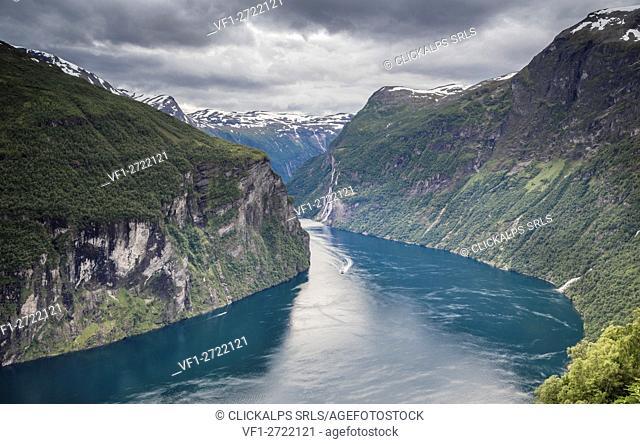 Geirangerfjord, Sunnmøre, Møre og Romsdal county, Norway