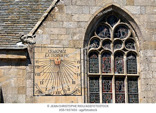 Sundial, Brittany, France
