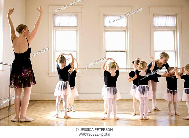 Springville, Utah, USA, Lessons at ballet school