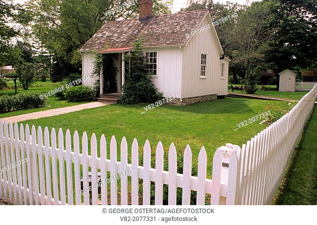 Herbert Hoover birthplace, Hoover National Historic Site, Iowa