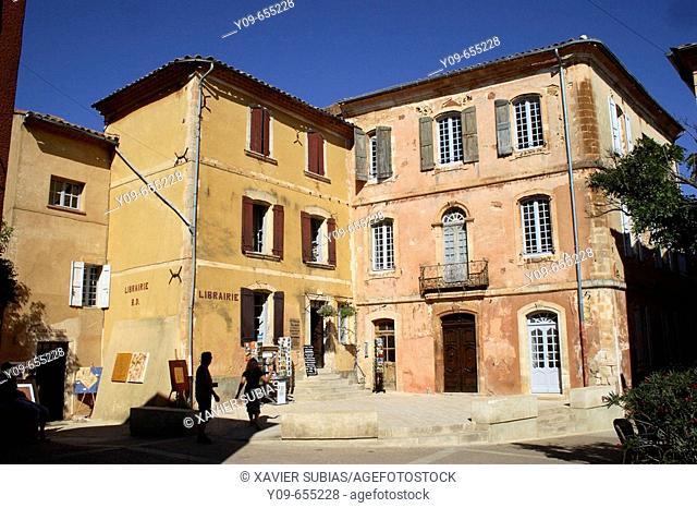Roussillon. Parc naturel régional du Luberon. Vaucluse, Provence,  France