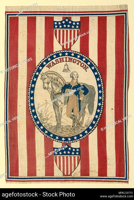Panel (Furnishing Fabric) - c. 1876 - United States - Origin: United States, Date: 1874-1878, Medium: Cotton, plain weave; roller printed, Dimensions: 44