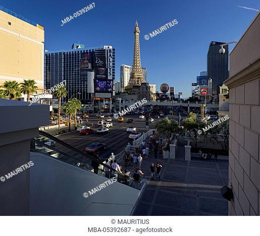Eiffel Tower, Strip, South Las Vegas Boulevard, Las Vegas, Nevada, USA