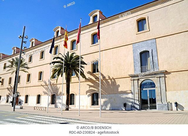 University, former military hospital, Cartagena, Murcia, Costa Calida, Spain