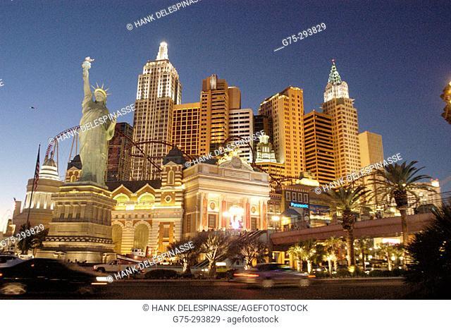New York Hotel and Casino. Las Vegas. Nevada. USA
