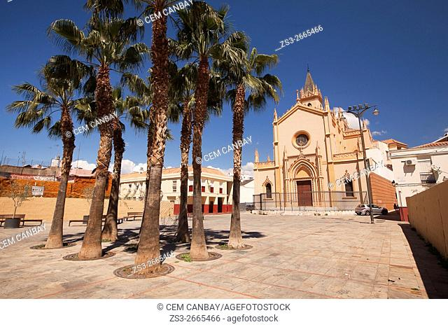 Maria la Faraona church, Malaga, Andalucia, Spain, Europe