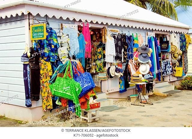 Eucilita's Craft and Gift store in Road Town, Tortola, British Virgin Islands, 2008