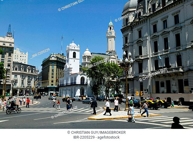 Plaza de Mayo, May Square, Buenos Aires, Argentina, South America