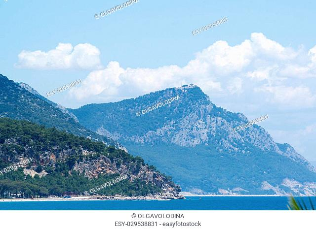 Turkey, a view of the peaks of the Taurus Mountains