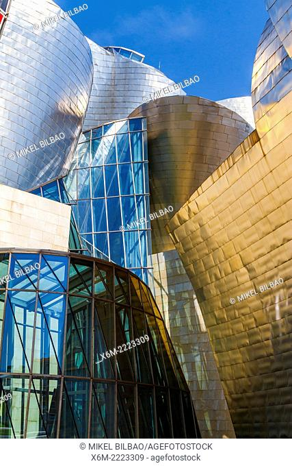 Guggenheim Museum. Bilbao, Biscay, Basque Country, Spain, Europe