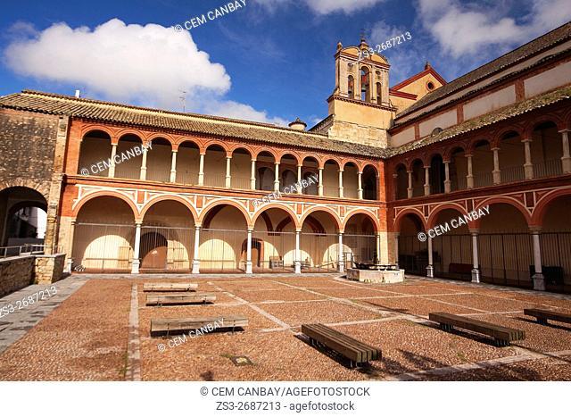 Iglesia y Convent de San Francisco- San Francisco Church and Convent at the historic center, Cordoba, Andalusia, Spain, Europe