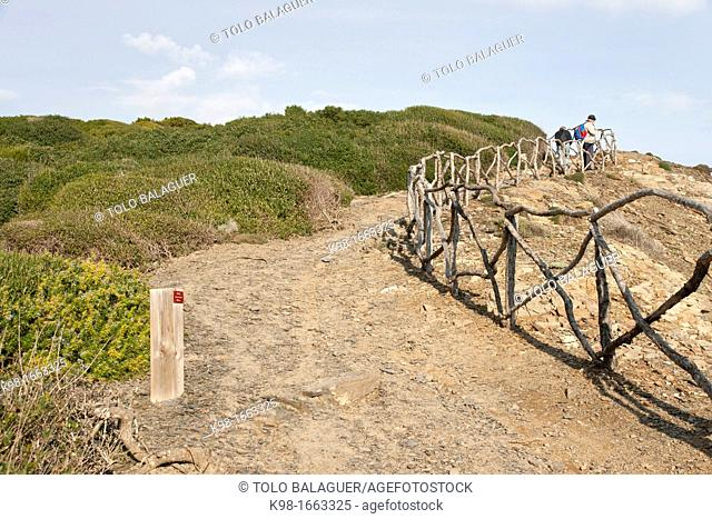 Prat de Morella, Minorca, Balearic Islands, Spain