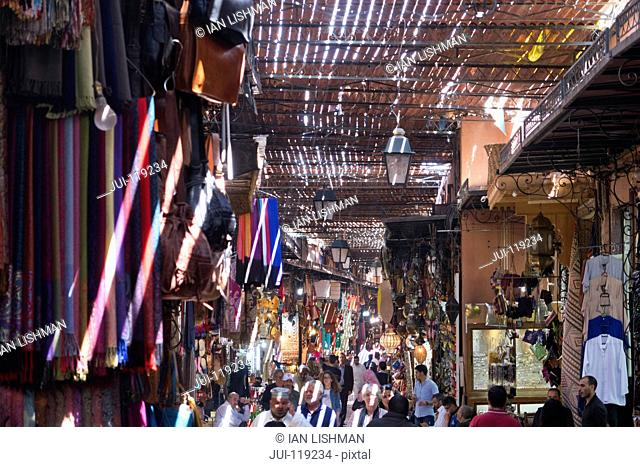 The Souk market in Marrakech