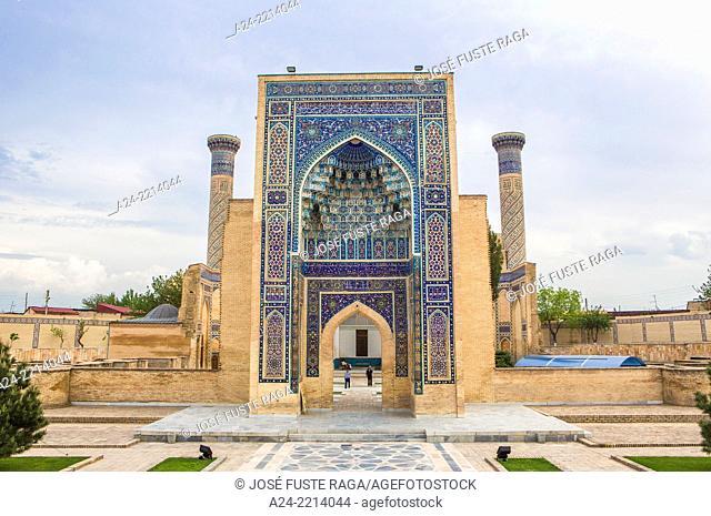 Uzbekistan , Samarkand City , Amir Timur Mausoleum