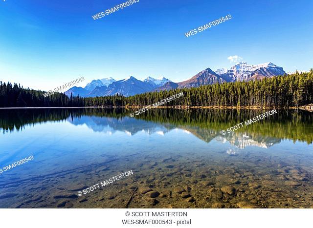 Canada, Alberta, Herbert Lake