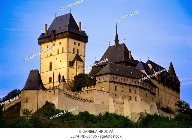 Castle Karlstejn, Czech Republic, Europe